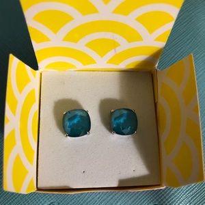 Swarovski Azure Blue Clara's Earrings